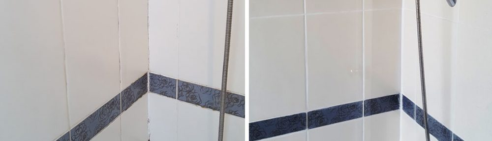 Ceramic Tiled Bath and Shower Tiles Refreshed in Hale Village